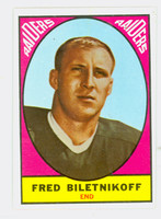 1967 Topps Football 106 Fred Biletnikoff Oakland Raiders Near-Mint