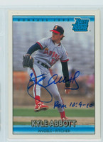 Kyle Abbott AUTOGRAPH 1992 Donruss Angels 