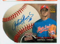 Tony Armas AUTOGRAPH 2000 Crown Royale Pacific Expos CERTIFIED 