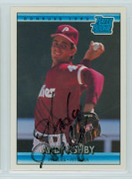 Andy Ashby AUTOGRAPH 1992 Donruss Phillies 