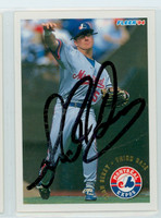 Sean Berry AUTOGRAPH 1994 Fleer Expos 