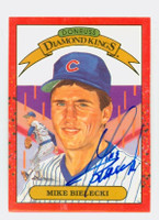 Mike Bielecki AUTOGRAPH 1990 Donruss Cubs Diamond King 
