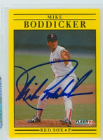 Mike Boddicker AUTOGRAPH 1991 Fleer Red Sox 