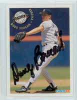 Doug Brocail AUTOGRAPH 1994 Fleer Padres 