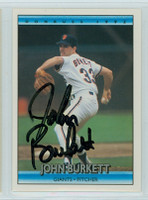 John Burkett AUTOGRAPH 1992 Donruss Giants 