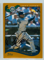 Mike Cameron AUTOGRAPH 2002 Topps Mariners 