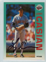Larry Casian AUTOGRAPH 1992 Fleer Twins 