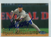 Frank Catalanotto AUTOGRAPH 1999 Fleer Tradition Tigers 