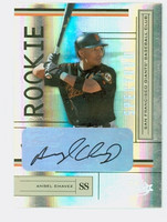 Angel Chavez AUTOGRAPH 2004 Playoff Absolute Giants CERTIFIED 