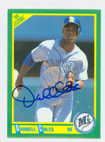 Darnell Coles AUTOGRAPH 1990 Score Mariners   [SKU:ColeD6491_SC90BB]