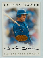 Johnny Damon AUTOGRAPH 1996 Leaf Signature Series Bronze Royals CERTIFIED 