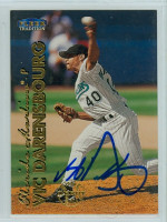 Vic Darensbourg AUTOGRAPH 1999 Fleer Tradition Marlins 