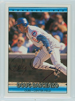 Doug Dascenzo AUTOGRAPH 1992 Donruss Cubs 
