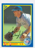 Jack Daugherty AUTOGRAPH 1990 Score Rangers 