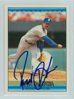 Rich DeLucia AUTOGRAPH 1992 Donruss Mariners 