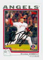 Brendan Donnelly AUTOGRAPH 2004 Topps Angels 
