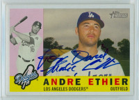 Andre Ethier AUTOGRAPH 2009 Topps Heritage 1960 Topps Design Dodgers PERS