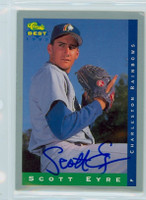 Scott Eyre AUTOGRAPH Classic/Best Minor League Card Charleston 