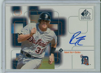 Robert Fick AUTOGRAPH 1999 Upper Deck SP Signature Tigers CERTIFIED 
