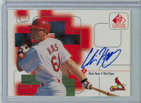 Chris Haas AUTOGRAPH 1999 Upper Deck SP Signature Cardinals CERTIFIED 
