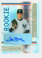Sean Henn AUTOGRAPH 2004 Playoff Spectrum AUTOGRAPH Yankees CERTIFIED 