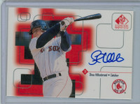 Shea Hillenbrand AUTOGRAPH 1999 Upper Deck SP Signature Red Sox CERTIFIED 