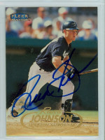 Russ Johnson AUTOGRAPH 1998 Fleer Tradition Astros 
