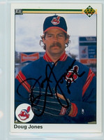 Doug Jones AUTOGRAPH 1990 Upper Deck Indians 