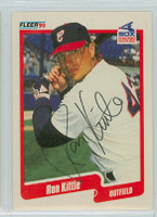 Ron Kittle AUTOGRAPH 1990 Fleer White Sox 