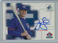 Joe Lawrence AUTOGRAPH 1999 Upper Deck SP Signature Blue Jays CERTIFIED 