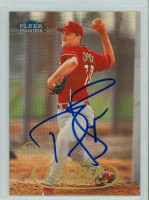 Braden Looper AUTOGRAPH 1998 Fleer Tradition Cardinals 