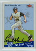 Rob Mackowiak AUTOGRAPH 2002 Fleer Tradition Pirates 