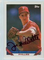 Joe Millette AUTOGRAPH 1993 Topps Phillies 