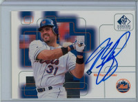 Mike Piazza AUTOGRAPH 1999 Upper Deck SP Signature Mets CERTIFIED 