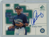 Alex Rodriguez AUTOGRAPH 1999 Upper Deck SP Signature Mariners CERTIFIED 