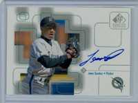 Jesus Sanchez AUTOGRAPH 1999 Upper Deck SP Signature Marlins CERTIFIED 