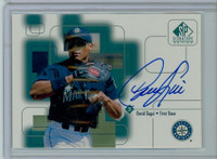 David Segui AUTOGRAPH 1999 Upper Deck SP Signature Mariners CERTIFIED 