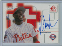 Reggie Taylor AUTOGRAPH 1999 Upper Deck SP Signature Phillies CERTIFIED 