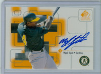 Miguel Tejada AUTOGRAPH 1999 Upper Deck SP Signature Athletics CERTIFIED 