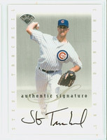 Steve Trachsel AUTOGRAPH 1996 Leaf Signature Series Extended Cubs CERTIFIED 