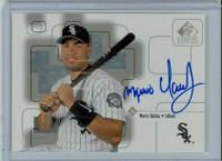 Mario Valdez AUTOGRAPH 1999 Upper Deck SP Signature White Sox CERTIFIED 