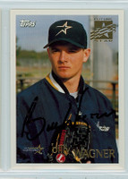 Billy Wagner AUTOGRAPH 1996 Topps Astros 