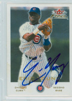 Eric Young AUTOGRAPH 2001 Fleer Focus Cubs 