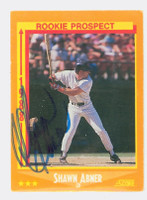 Shawn Abner AUTOGRAPH 1988 Score Padres 