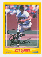 Scott Garrelts AUTOGRAPH 1988 Score Giants 