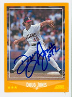 Doug Jones AUTOGRAPH 1988 Score Indians 