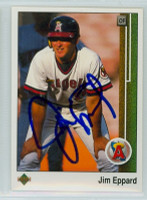 Jim Eppard AUTOGRAPH 1989 Upper Deck Angels 