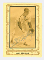 Luke Appling AUTOGRAPH d.91 1980-83 Cramer Baseball Legends 