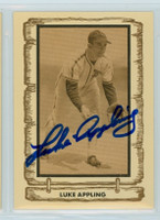 Luke Appling AUTOGRAPH d.91 1980-83 Cramer Baseball Legends White Sox 