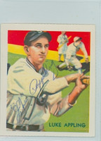 Luke Appling AUTOGRAPH d.91 Dover Reprints Diamond Stars White Sox 